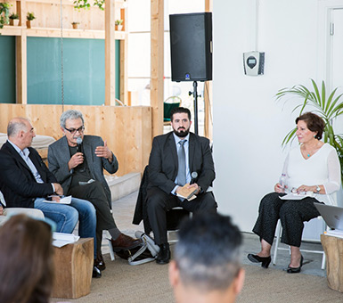 "Accomplished CUD professors speak at ""Baghdad and Her Architects"" round-table discussion"