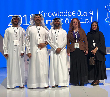 CUD Students Attend Tolerance and Knowledge Summits