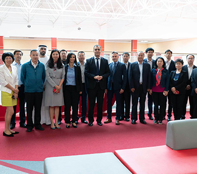 High Level Chinese Delegation Visits CUD