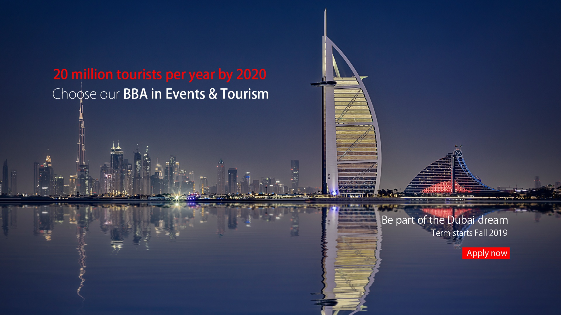 BBA in Events and Tourism