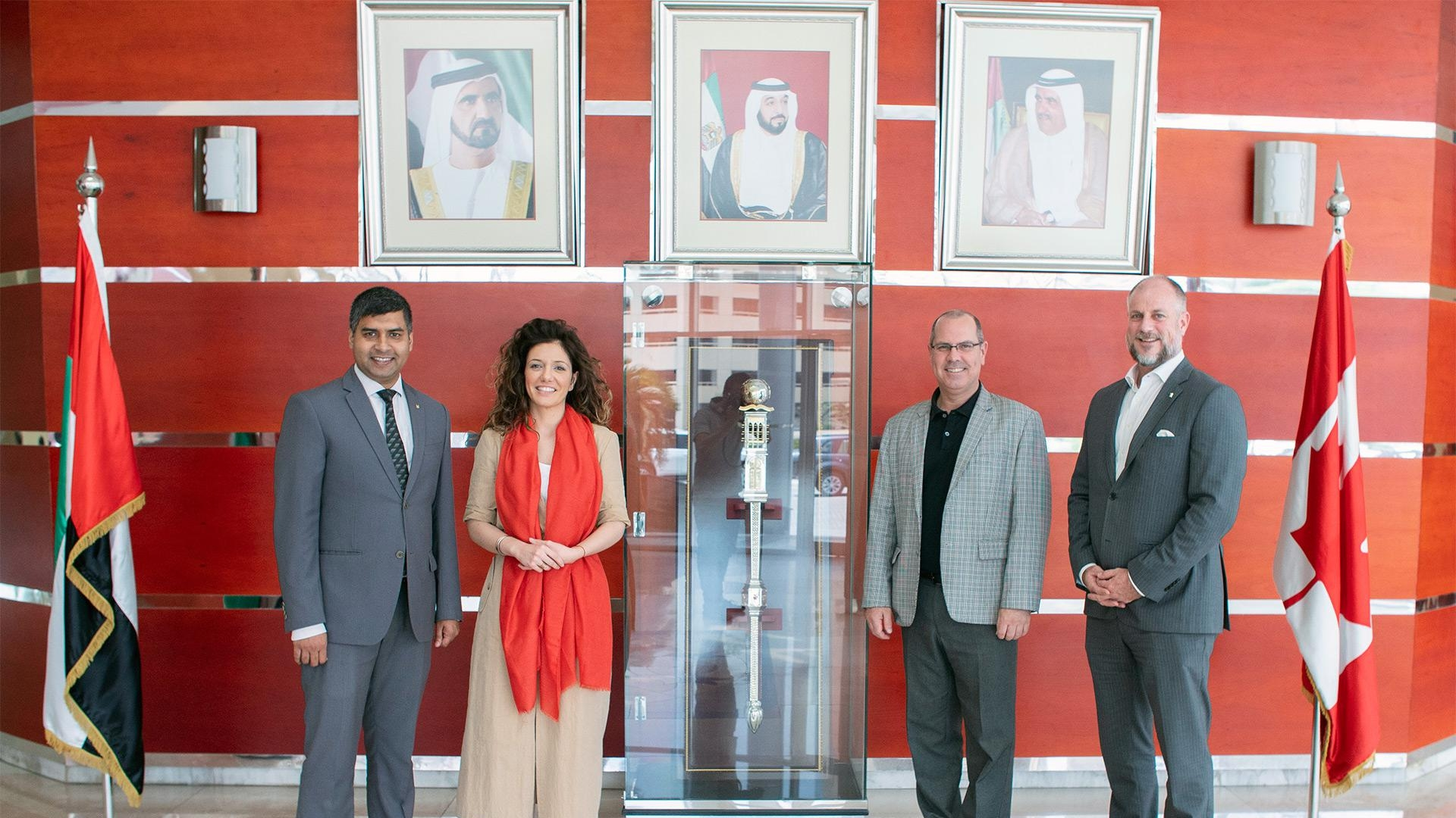 Canadian University Dubai signs MoU with Millennium Group hotel