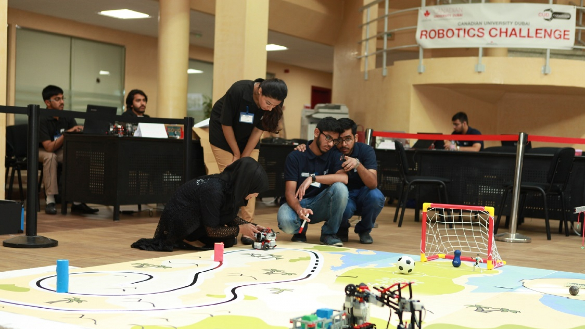 Robotics Competition pre event