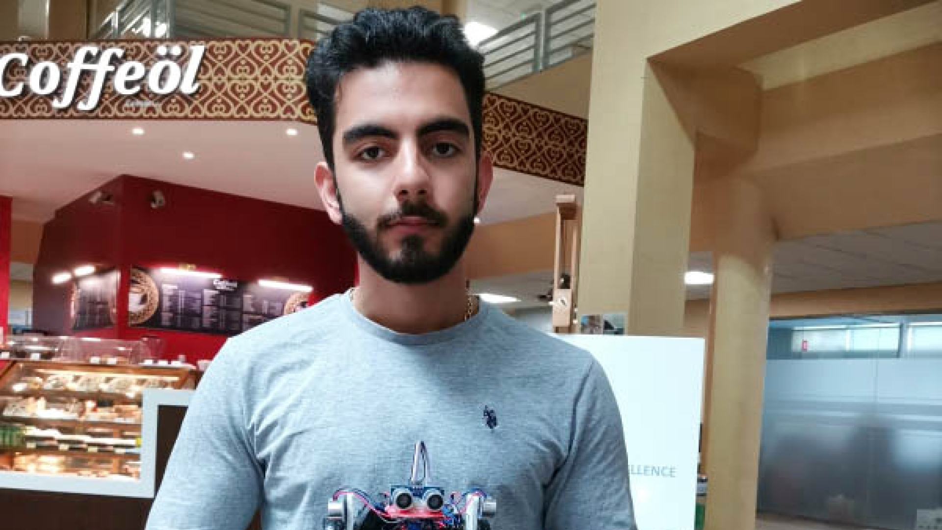 Canadian University Dubai Student Develops a Security System Ensuring the Safety of Passengers in Vehicles