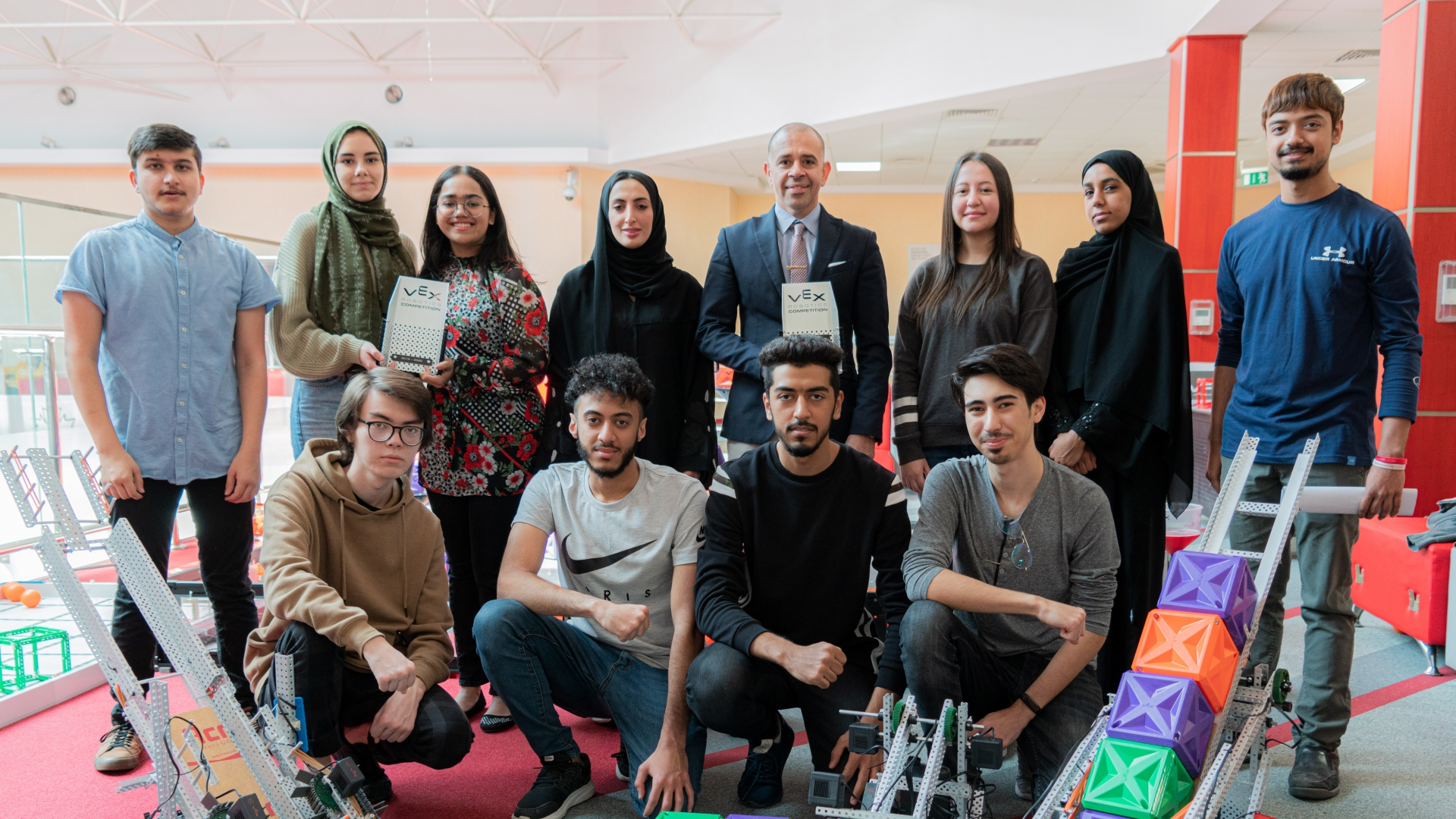"The CUD Engineering Team under the name ""Do-Smart"" beat four teams from the region's major universities to win the VEXU MENA Region Robotics Challenge that took place on February 15, 2020"