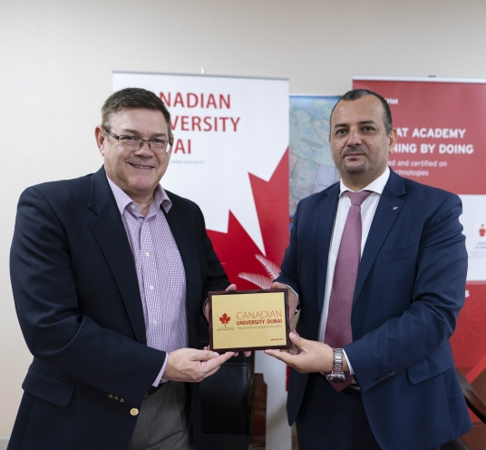 Canadian University Dubai and Red Hat Academy have signed an agreement to bring Red Hat Academy courses to the university students.