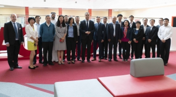 Visit by Chinese Delegates