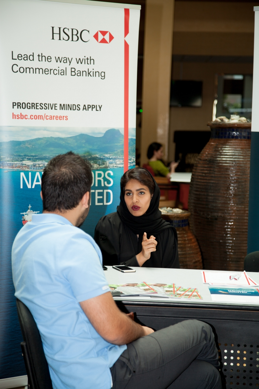 CUD Students Connect with Top Employers at Campus Career Fair