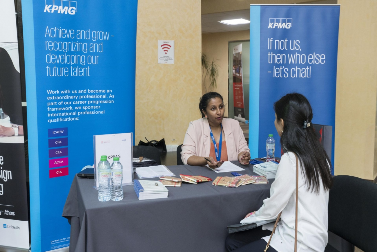 annual career fair welcomes over 20 international