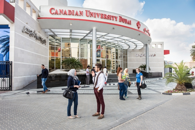 Image result for IMAGES FOR Canadian University Dubai