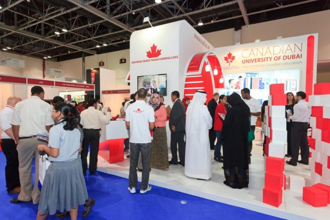 Exhibition Stand Designer Vacancy In Dubai : Students win free course at the canadian university of dubai after