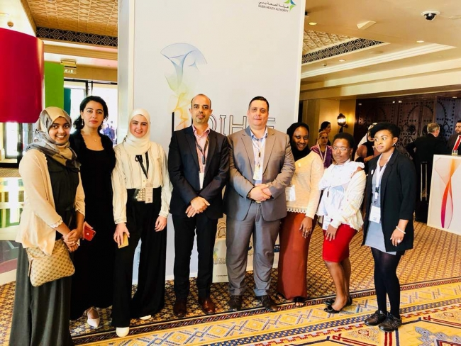Environmental Health students attend Dubai Health Forum