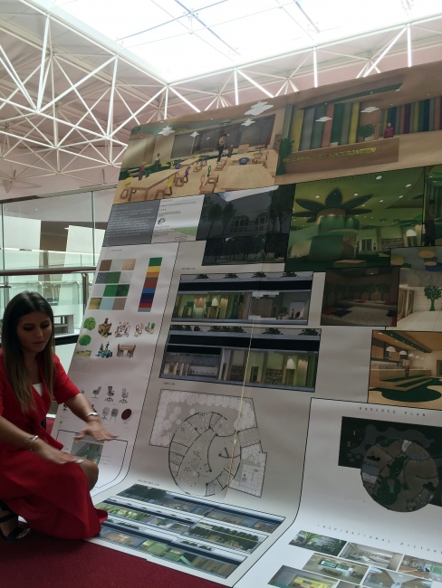 Interior design students display impressive graduation - Graduation gift for interior design student ...