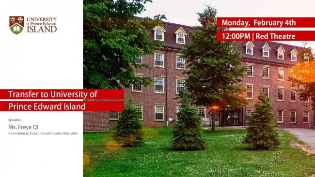 University Of Prince Edward Island >> University Of Prince Edward Island Is On Cud Campus To