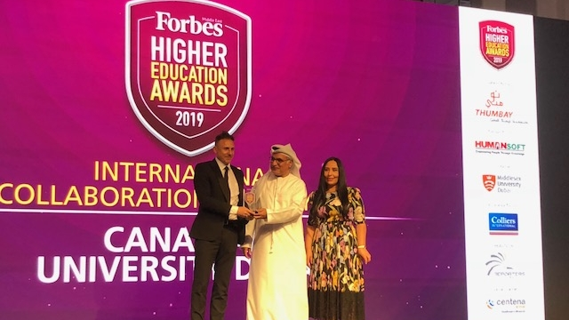 Forbes International Collaboration Award